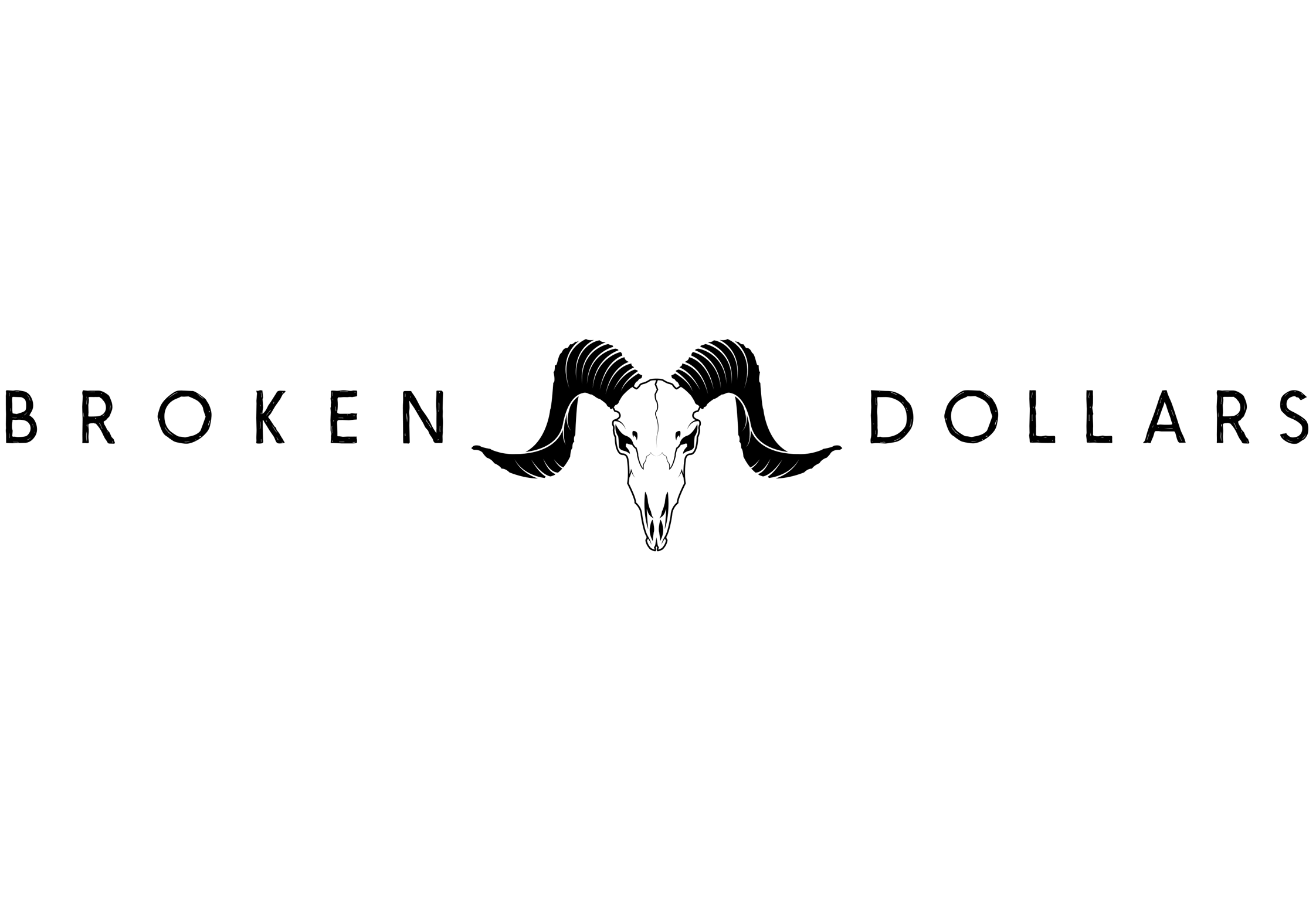 Broken Dollars band logo